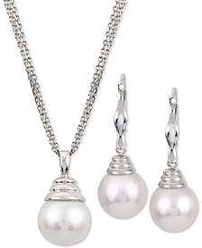 Windsor Cultured Freshwater Pearl Jewelry Collection in Sterling Silver