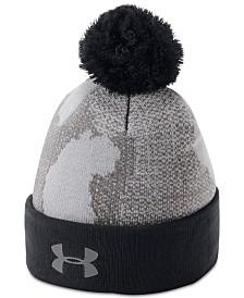 Under Armour Big Boys Pom-Pom Beanie Hat