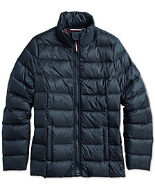 Tommy Hilfiger Apdaptive Women's Quilted Jacket with Magnetic Zipper