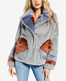GUESS Emily Faux-Fur Jacket