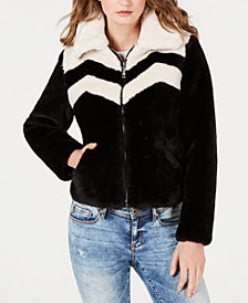 GUESS Joely Faux-Fur Jacket