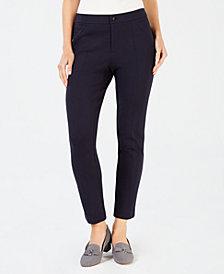 Charter Club Seam-Detail Ponté Pants, Created for Macy's
