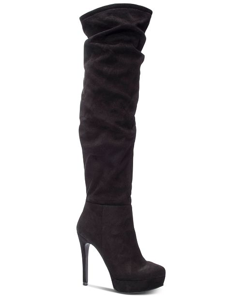 Chinese Laundry Lorie Over-The-Knee Boots - Boots - Shoes - Macy s 2014fb6c3412