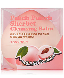 TONYMOLY Peach Punch Sherbet Cleansing Balm