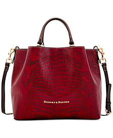 Dooney & Bourke Large Barlow Embossed Leather Tote, Created for Macy's