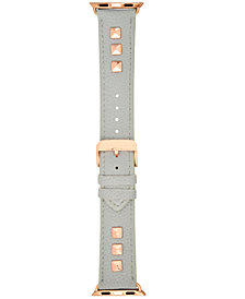 I.N.C. Women's Studded Faux Leather Apple Watch® Strap, Created for Macy's