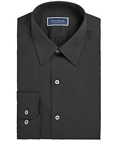 ca652399ea24 Club Room Men's Regular Fit Solid Dress Shirt, Created for Macy's