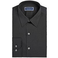 Deals on Club Room Mens Classic/Regular Fit Solid Dress Shirt