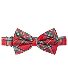 Lauren Ralph Lauren Big Boys Tartan Plaid Bowtie
