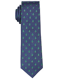 Lauren Ralph Lauren Big Boys Christmas Tree Necktie