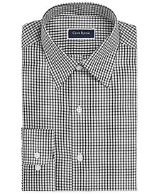 Club Room Men's Slim-Fit Check Dress Shirt, Created for Macy's