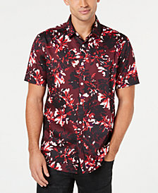 I.N.C. Men's Phoenix Floral Shirt, Created for Macy's