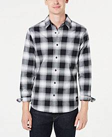 Calvin Klein Jeans Men's Slim-Fit Buffalo Plaid Flannel Shirt Created for Macy's