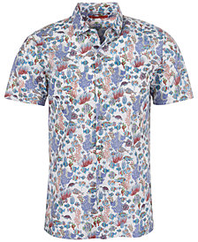 Tori Richard Men's Aquaculture Printed Shirt
