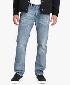 Silver Jeans Co. Mens Konrad Slim-Fit Straight Jeans