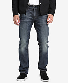 Silver Jeans Co. Mens Allan Classic-Fit Slim Jeans