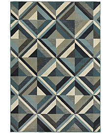 Oriental Weavers Linden 7902A Blue/Grey Area Rug