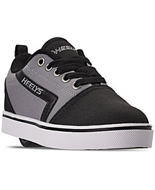 Heelys Little Boys' GR8 Pro Wheeled Skate Casual Sneakers from Finish Line