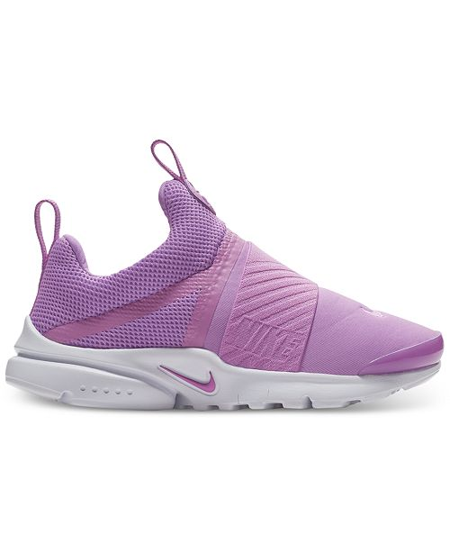 158626dd2f44 Nike Little Girls  Presto Extreme Running Sneakers from Finish Line ...