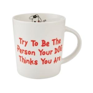 Pfaltzgraff Be the Person Dog Mug