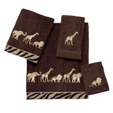 Avanti Animal Parade Embroidered Hand Towel
