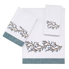 Avanti Elia Embroidered Fingertip Towel
