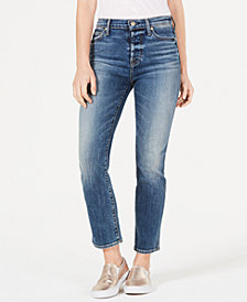7 For All Mankind The Edie Straight-Leg Jeans