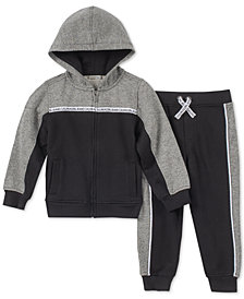 Calvin Klein Little Boys 2-Pc. Hoodie & Joggers Set