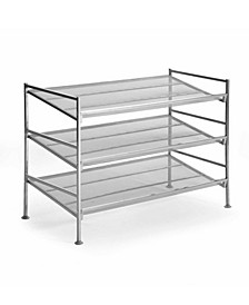 3Tier Mesh Shoe Rack