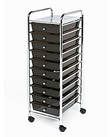 10 Drawer Organizer Cart