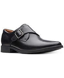 Clarks Men's Tilden Style Monk Strap Loafers