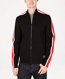 Calvin Klein Men's Full Milano Track Jacket