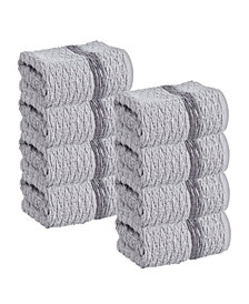 Enchante Home Anton 8-Pc. Wash Towels Turkish Cotton Towel Set