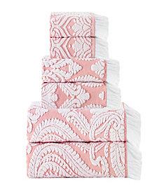 Enchante Home Laina 6-Pc. Turkish Cotton Towel Set