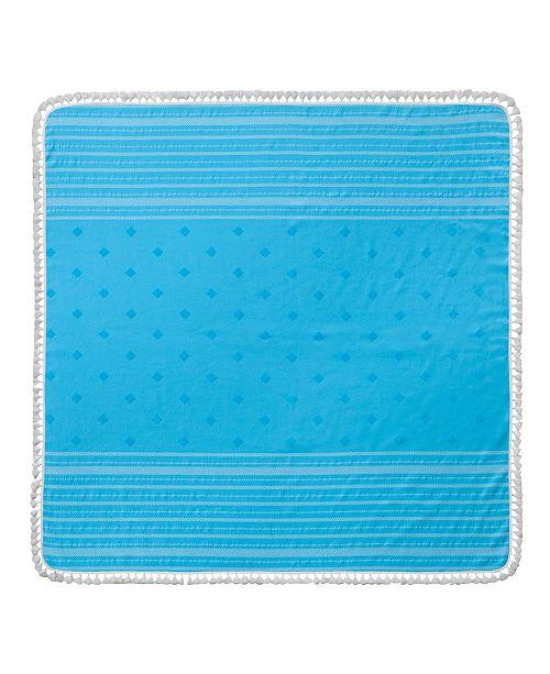 Enchante Home Micra Square Turkish Cotton Beach Towel