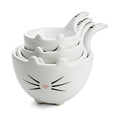 Tri-Coastal Design Cat Measuring Cups