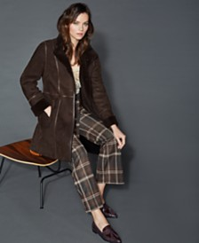 The Fur Vault Shearling Lamb Coat
