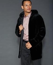 The Fur Vault Reversible Sheared Mink Fur Jacket