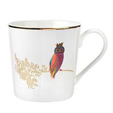 Portmeirion Sara Miller 12 oz. Mug Opulent Owl