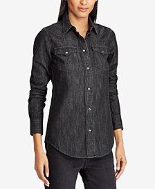 Lauren Ralph Lauren Cotton Western Shirt