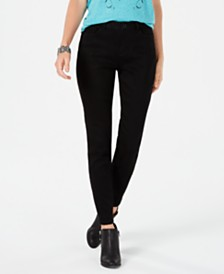 Style & Co Petite Power Sculpt Curvy Skinny Jeans, Created for Macy's