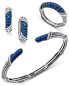 Sapphire Collection in Sterling Silver