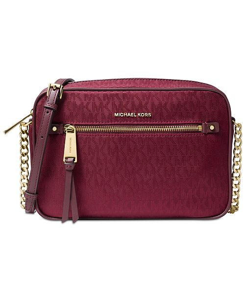63fae28b57 Michael Kors Kelsey Signature East West Small Crossbody   Reviews ...