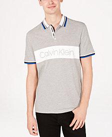 Calvin Klein Men's Logo-Print Polo
