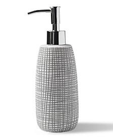 Cassadecor Cestino Embossed Porcelain Lotion Dispenser