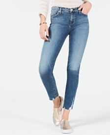 Hudson Jeans Skinny Cropped Jeans