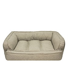 CLOSEOUT! Arlee Memory Foam Sofa and Couch Style Pet Bed, Large