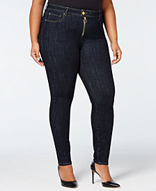 I.N.C. Plus Size INContour Skinny Jeans, Created for Macy's
