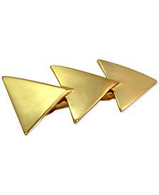 GUESS Gold-Tone Triangle Barrette
