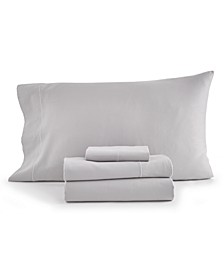Solid 4-Pc Queen Sheet Set, 300 Thread Count Hygro Cotton, Created for Macy's